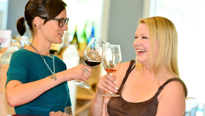 Wine tastings make for a fun girl's night out.