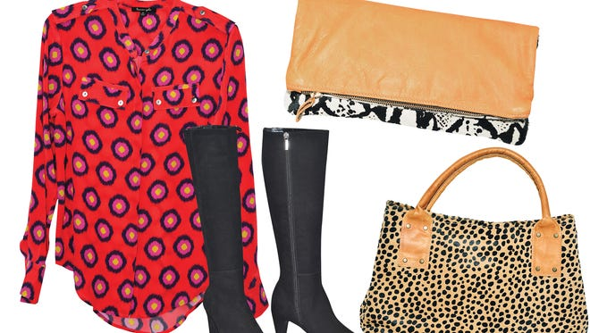 Fall Fashion items from local area boutiques.
