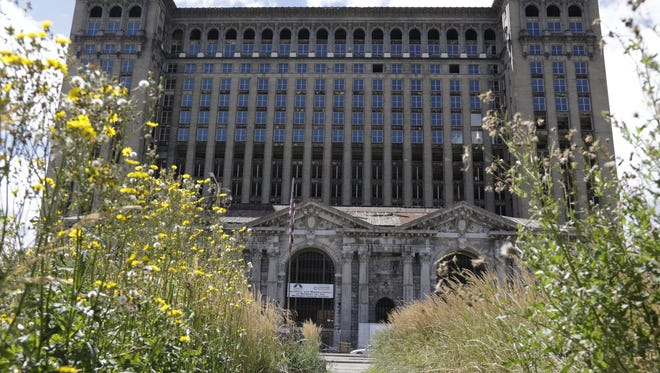 Matthew Moroun, son of depot owner Manuel (Matty) Moroun, floated the idea of moving some of the family's business operations into the Michigan Central Depot that it owns.