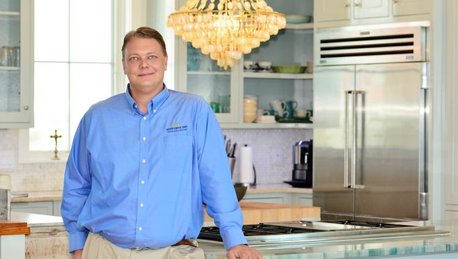 Damian Schrey, a residential designer and project manager at Highpointe DBR.