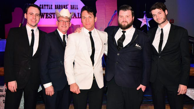The Modern Eldorados took the stage at the American Cancer Society's Cattle Barons' Ball.
