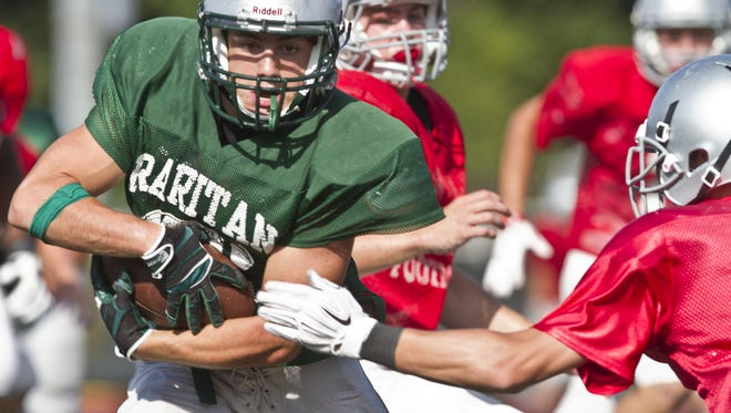 Raritan, led by running back Derek Ernst has moved into the Asbury Park Press Football Top 10 for the first time since 2009.
