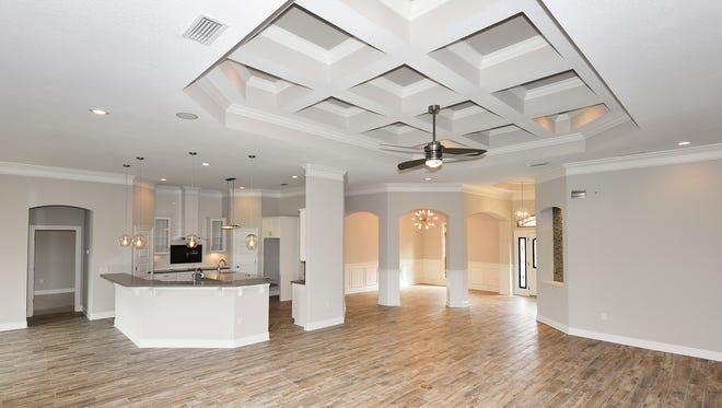 2643 Holley Club Drive, the open floor plan is highly sought after.