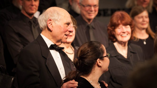 Musica Sacra founder Helmut Roehrig will be honored for the choral group's 50th anniversary.