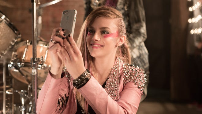 """Audrey Peeples in  """"Jem and the Holograms."""""""