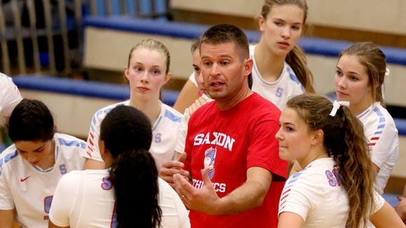 South Salem volleyball coach Matt Leichty is among the volleyball coaches who know I want statistics.
