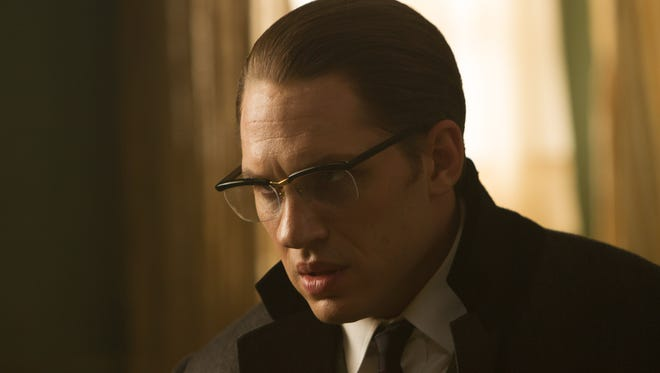 "Tom Hardy as Ronnie Kray  in ""Legend."""