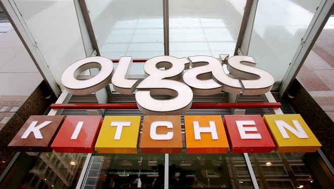 Two competing bidders have emerged to buy Olga's Kitchen out of bankruptcy.