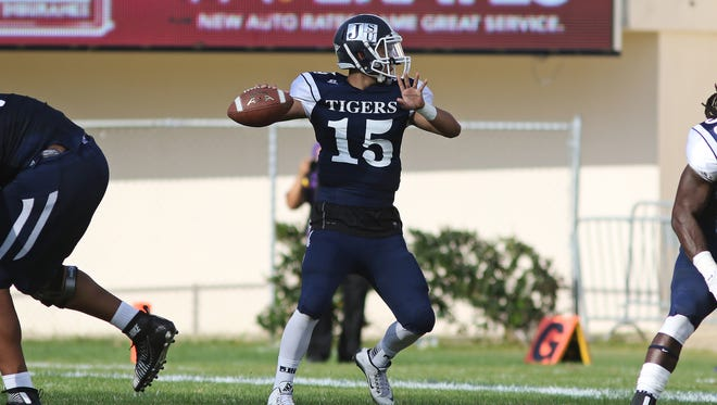 Quarterback Jarin Morikawa may become Jackson State's starter after a solid performance against Southern on Saturday.