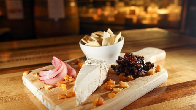 Brix's brie board is pictured on Tuesday, Dec. 1, 2015.