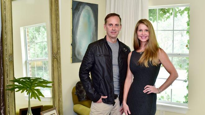 Design team Jeff Spradlin and Jill Doughty.