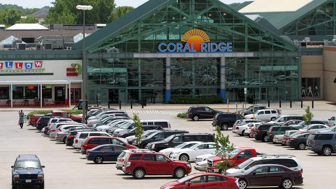 David Scrivner / Iowa City Press-Citizen The Coral Ridge Mall is seen on Thursday. The Coral Ridge Mall is seen on Thursday, June 18, 2015.   David Scrivner / Iowa City Press-Citizen