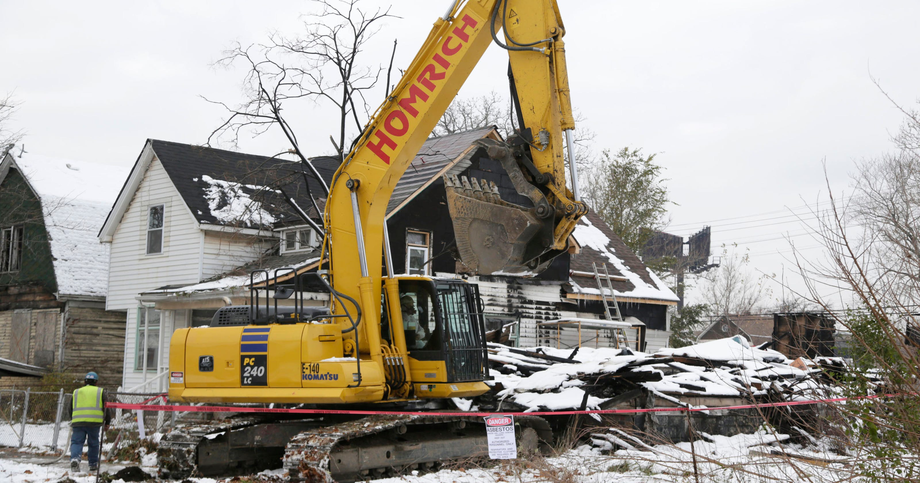 Detroit's home demolition program is poorly run, audit finds