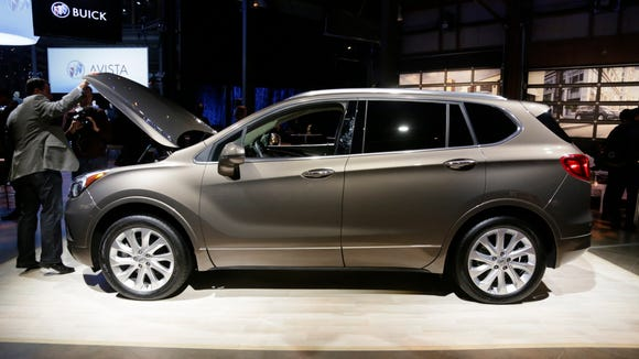 The Chinese made Envision makes a showing  at the Buick