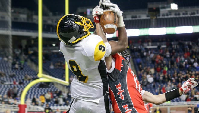 Corley led King to the Division 2 state title with a last-second Hail Mary touchdown catch against Lowell on Nov. 27, 2015, at Ford Field.