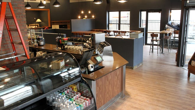Java House's Mormon Trek location is seen on Thursday, Jan. 14, 2016. The coffee shop is reopening with more seating and an attached Heirloom Salad Company.