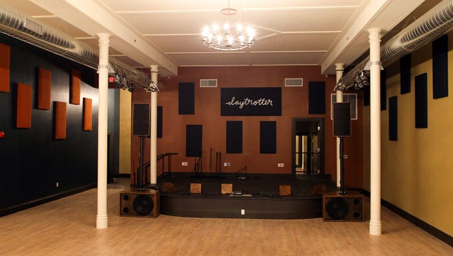 Daytrotter's new Davenport location is seen on Friday, Jan. 15, 2016.