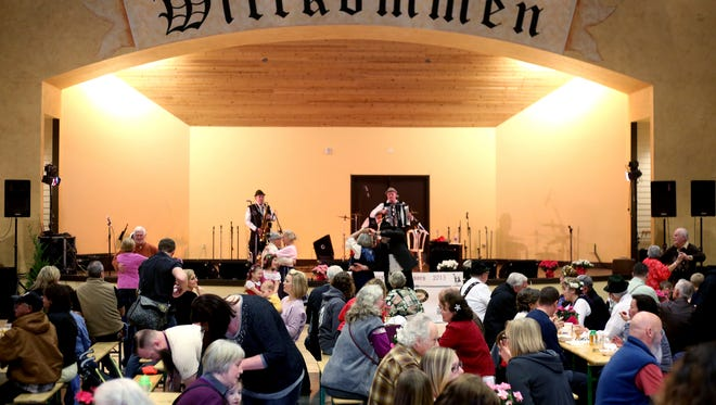 The Mt. Angel Wurstfest at the Festhalle in Mt. Angel will happen this year Feb. 5 and 6.