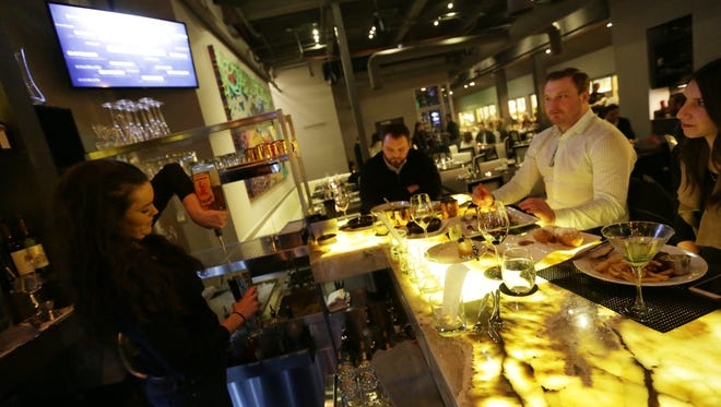 Bistro 82 restaurant in Royal Oak is one of the top ten new restaurants to open in 2014 according to Detroit Free Press restaurant critic Sylvia Rector.
