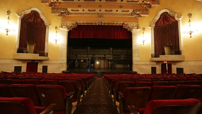 Music Hall Center For The Performing Arts in Detroit on Wednesday, Jan. 6, 2016.