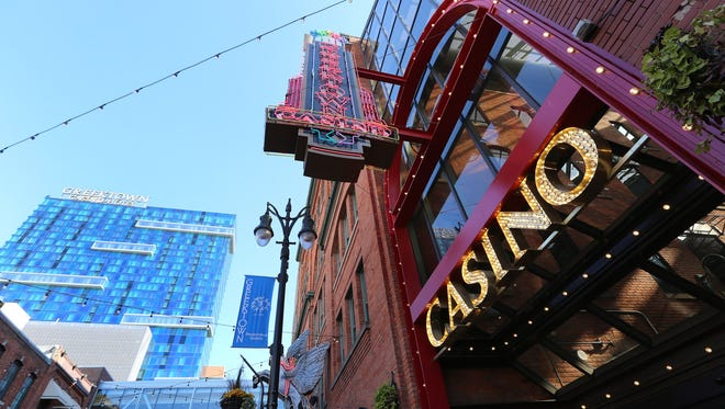 Greektown Casino and Hotel in Detroit  will become Jack Detroit Casino Hotel Greektown at the end of 2016.