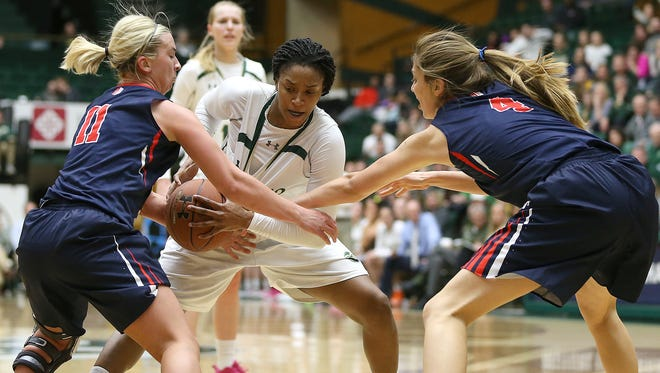 Colorado State and Fresno State are the top two seeds in this week's Mountain West women's basketball tournament.