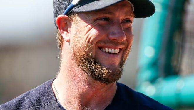 Tigers catcher Bryan Holaday