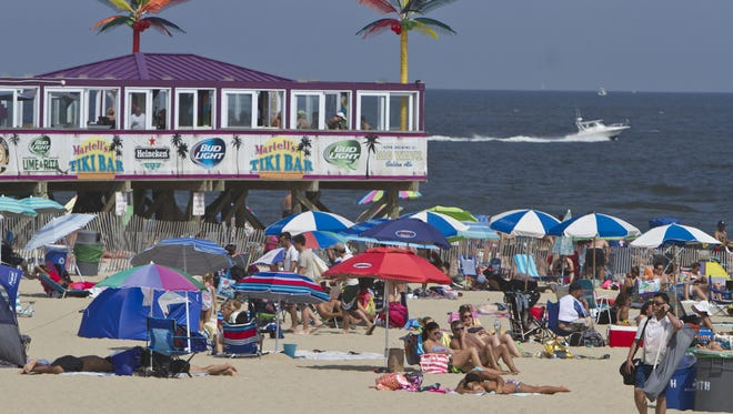 Life's a beach in Ocean County: The Jenkinson's beach and boardwalk on Aug. 29, 2015 in Point Pleasant Beach.