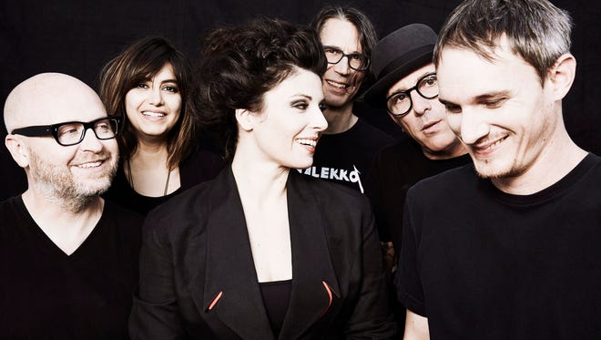 Puscifer has released  three full-length albums, four remix albums, two live albums and three EPs. Maynard James Keenan is second from right in the photo.