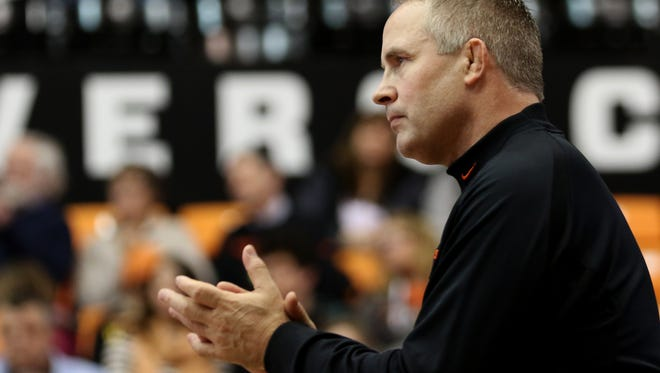 Oregon State's Jim Zalesky has been named Pac-12 Wrestling Coach of the Year seven times in his 10 seasons in Corvallis.
