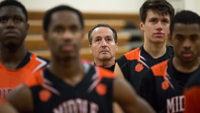 Tom Feraco stepped aside Tuesday after 35 seasons as the boys' basketball coach at Middle Township High School.