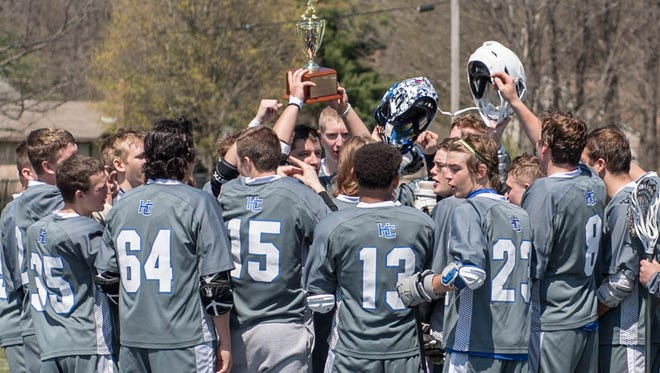 Harper Creek wins the 1st Annual All City Lacrosse Tournament on Saturday.