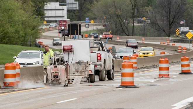 The Michigan Department of Transportation began concrete repairs for I-194 on Monday. Construction is expected to last until June 17.