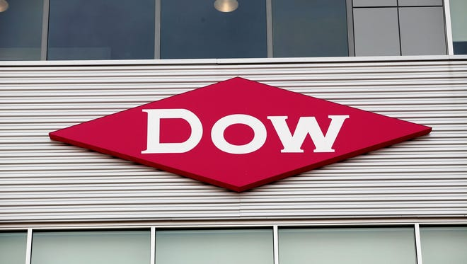 The Dow Chemical logo.