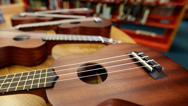 """The ukulele craze continues at the Salem Public Library with """"Ukephoria: Ukulele Concert"""" 2:30 p.m. Saturday, June 4."""