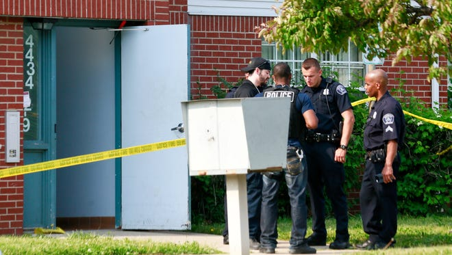 The body of a three-year-old boy was discovered in an apartment Wednesday by a maintenance worker, Detroit Police say.