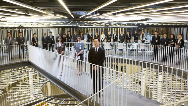 """Johnnie To's Office,"" screening June 9 and June 11, is a Chinese musical comedy based on a popular stage play."
