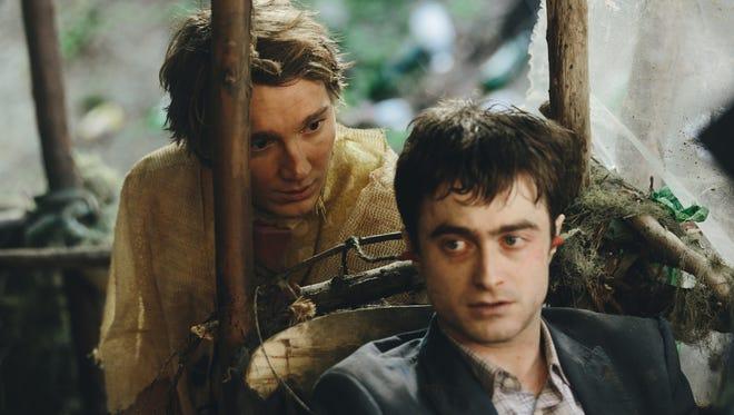"Paul Dano and Daniel Radcliffe in ""Swiss Army Man."""