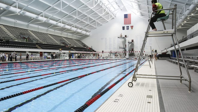 "IUIPUI is ""redefining world-class"" with their grand re-opening of the school's Natatorium on June 7, 2016 in Downtown Indianapolis."
