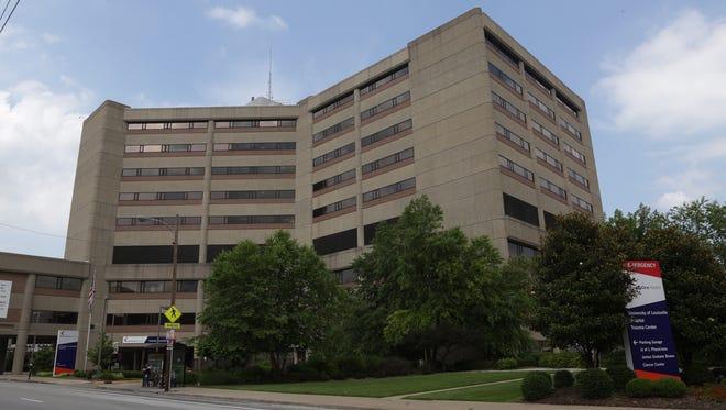 University of Louisville Hospital, downtown Louisville.