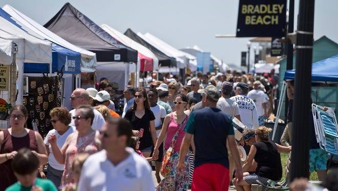 The Bradley Beach LobsterFest, seen here in 2016, won't happen in 2018 -- even later in the fall as some residents have suggested.