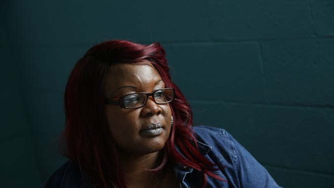 'It's changed my life. I'm so grateful. Without this place I'd be dead. I really believe I'd be dead right now. I've been changed,' Amika Ward, 42, said at the Grace Centers of Hope's new Women and Children's Center in Pontiac on Monday May 16, 2016. Ward suffered from severe alcoholism, chronic homelessness and psychiatric issues before being a part of the program. 'It's changed my life 200% from where I was last year at this time.'