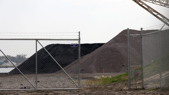 The City of Detroit is lobbying against a local business' plan to store a byproduct of coal near an industrial part of Detroit Riverfront and local neighborhoods.