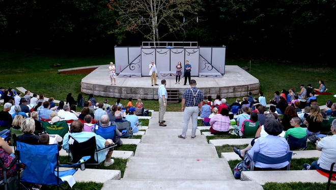 "Keizer Homegrown Theatrre performed ""A Midsummer Night's Dream"" in 2015. This year's Shakespeare in the Park performance is ""Twelfth Night."""