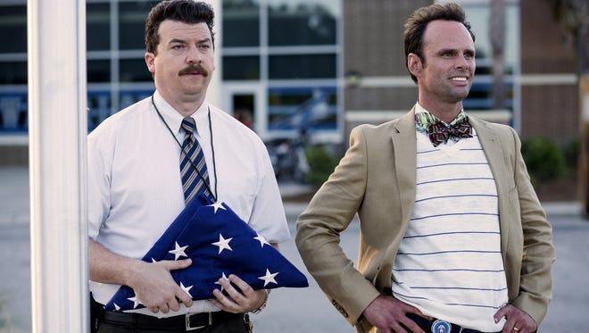 """Danny McBride and Walton Goggins in """"Vice Principals."""""""