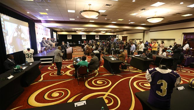 SWAC Media Day will take place in the Birmingham Marriott.