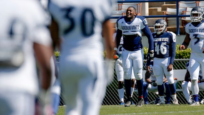 Tigers defensive end Javancy Jones is poised to have another stellar season for JSU, which kicks off camp on Tuesday.