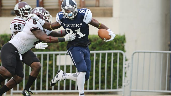 JSU receiver Daniel Williams has had to adjust to a new offense this year.