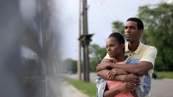 Tika Sumpter and Parker Sawyers in SOUTHSIDE WITH YOU.Photo credit: Pat Scola, Courtesy of Miramax and Roadside Attractions