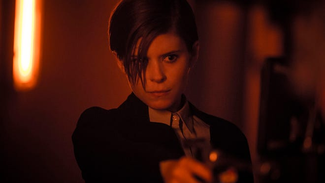 """In """"Morgan,""""  Kate Mara portrays a corporate troubleshooter whose investigation of an artificial being takes a dangerous turn."""